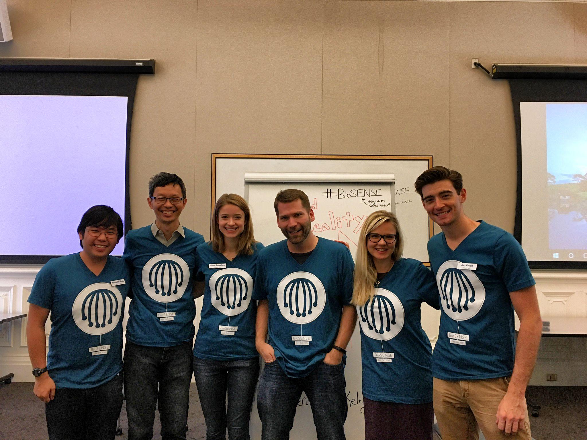 Members of the BioSENSE team at Cal Day